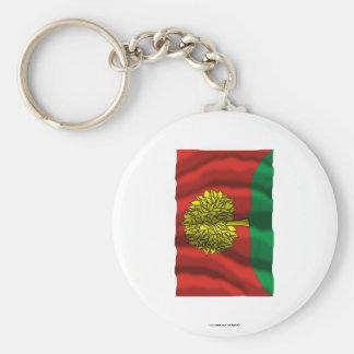 Lipetsk Oblast Flag Basic Round Button Keychain