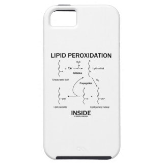 Lipid Peroxidation Inside Case For iPhone 5/5S