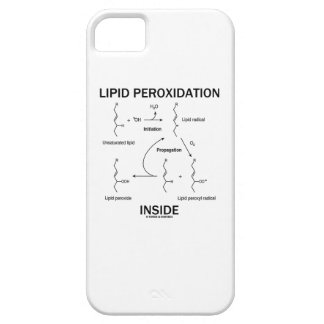 Lipid Peroxidation Inside iPhone 5 Cases