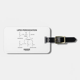 Lipid Peroxidation Inside Tags For Bags