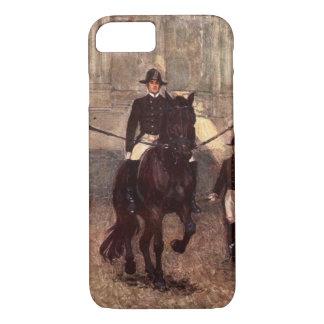 Lipizzan Bay Stallion Dressage: Piaffe iPhone Case