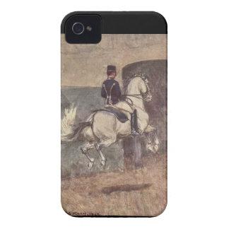 Lipizzan Stallion Dressage: Ballotade iPhone case