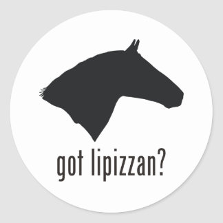 Lipizzan Classic Round Sticker