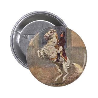 Lipizzaner Dressage: Courbette Button