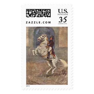 Lipizzaner Dressage: Courbette Stamp