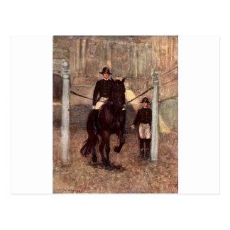 Lipizzaner Dressage: Piaffe Postcard
