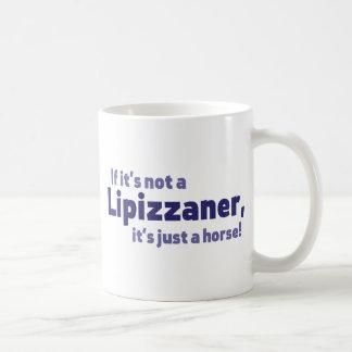 Lipizzaner horse coffee mug