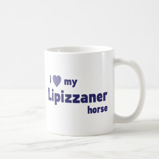 Lipizzaner horse mugs