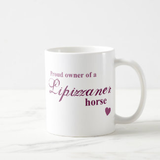 Lipizzaner horse coffee mugs