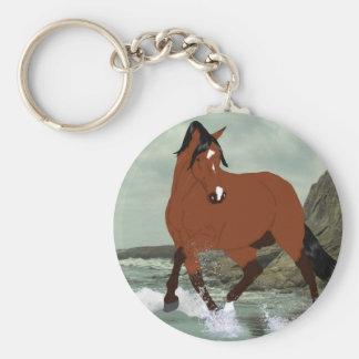 Lipizzaner Horse Stallion Keychain