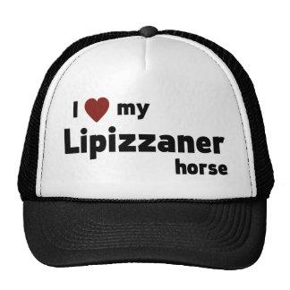 Lipizzaner horse trucker hat