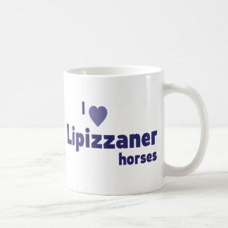Lipizzaner horses coffee mugs
