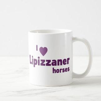 Lipizzaner horses mugs