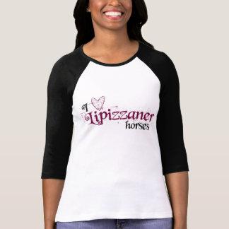 Lipizzaner horses tee shirt