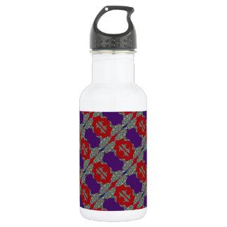 LIPKISS :  Purple Lips Water Bottle