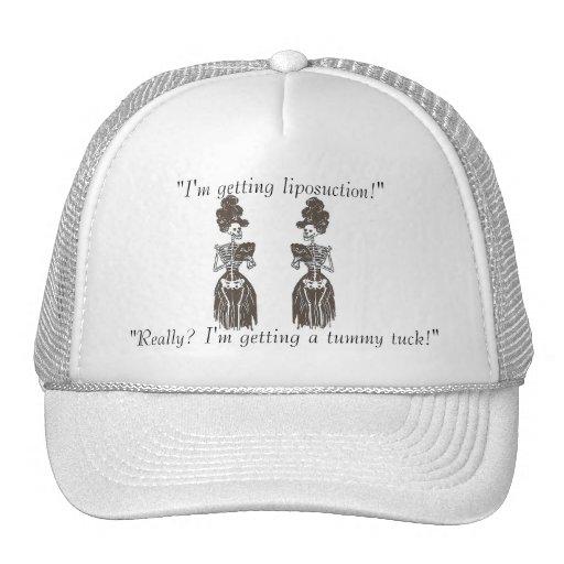 Liposuction Satire: Skin & Bones Speak Series Trucker Hat
