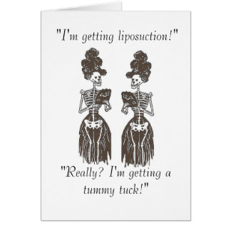 Liposuction: Skin & Bones Speak Series Card