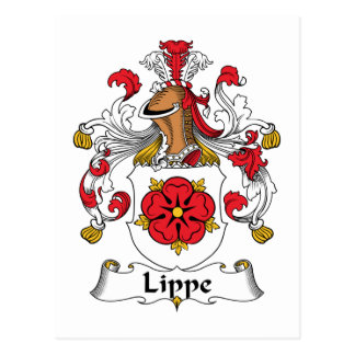 Lippe Family Crest Post Cards