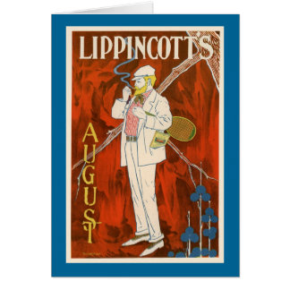 Lippincott's August Card