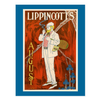 Lippincott's August Postcard