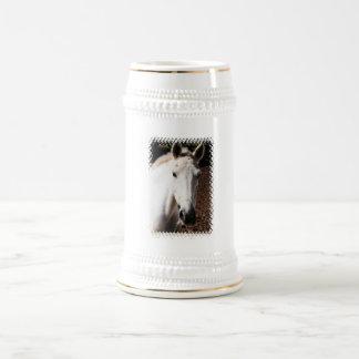 Lippizaner Horse Beer Stein Mug