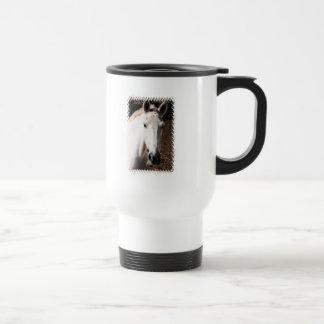Lippizaner Horse Plastic Travel Mug