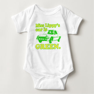 Lippy Car Baby Bodysuit