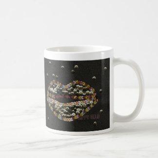 Lippy Gold Classic White Coffee Mug