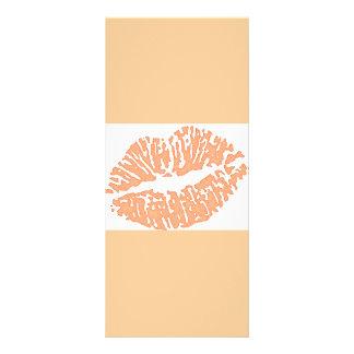 lips-7571-peach customized rack card