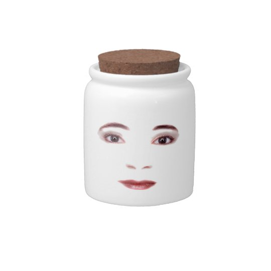 Lips and Eyes Candy Jars