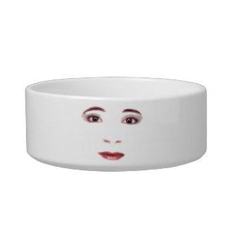Lips and Eyes Pet Water Bowls
