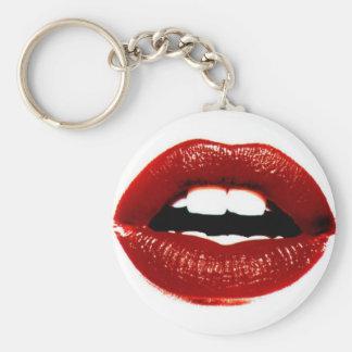 lips keychain