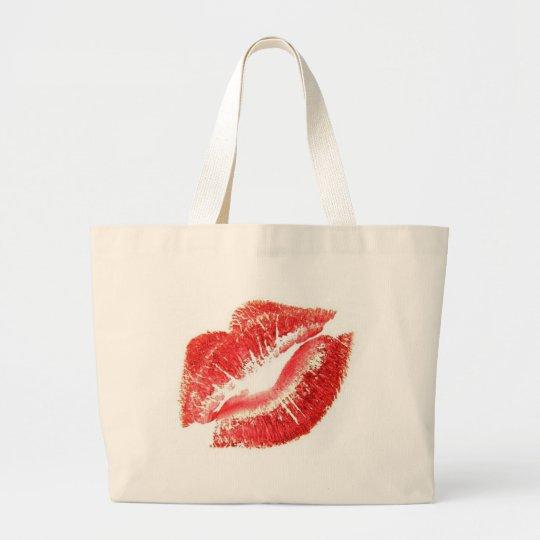 Lips Large Tote Bag