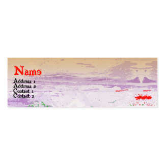 LIPS MINI BUSINESS CARD