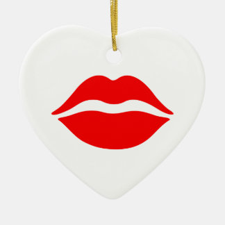 Lips Ornament