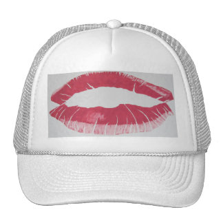 Lips Really Read Hat by RT STONE