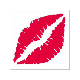Lips - Sealed with a Kiss Self-inking Stamp