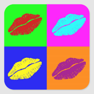 lips'  stickers