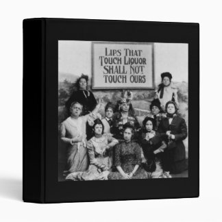 Lips That Touch Liquor Shall Not Touch Ours 3 Ring Binder