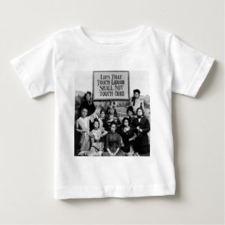 Lips That Touch Liquor Shall Not Touch Ours Baby T-Shirt