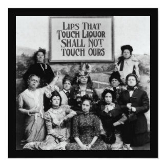 Lips That Touch Liquor Shall Not Touch Ours Card