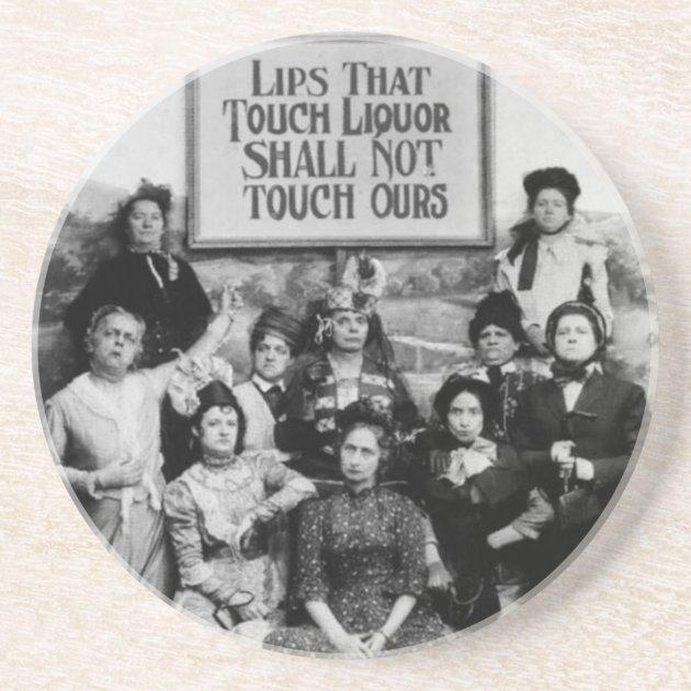Lips That Touch Liquor//B//W Photo//Poster-1893-1901//Temperance Movement