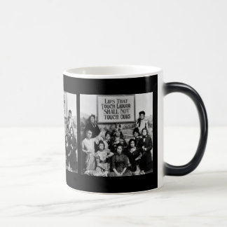 Lips That Touch Liquor Shall Not Touch Ours 11 Oz Magic Heat Color-Changing Coffee Mug