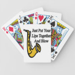 Lips Together Bicycle Poker Cards
