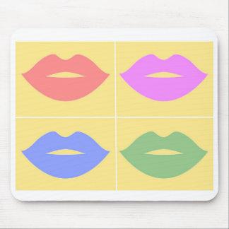 Lips Unique Colourful Mouse Pad