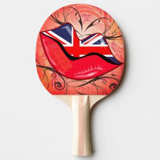 Lips, United Kingdom Ping Pong Paddle