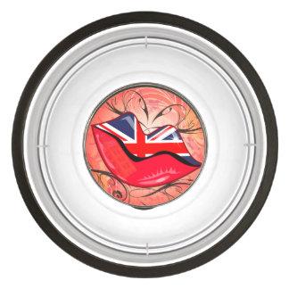 Lips, United Kingdom Pet Bowl