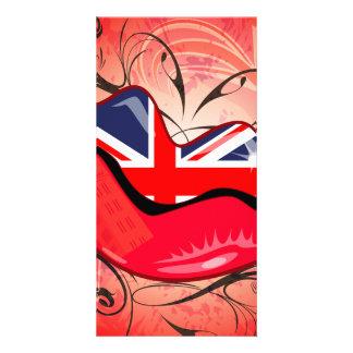 Lips, United Kingdom Photo Greeting Card