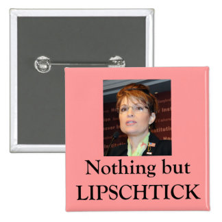 Lipschtick 2 Inch Square Button