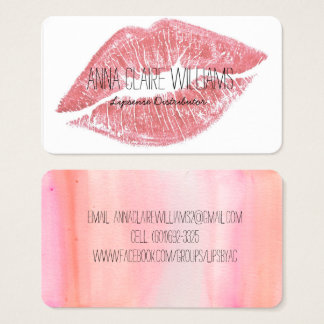 lipsense business cards templates zazzle